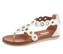 'Jodie' Sandaletten weiß