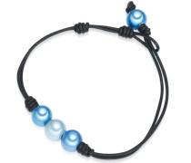 Armband blau / schwarz