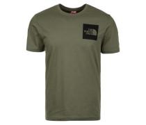 T-Shirt 'M S/S Fine Tee' oliv