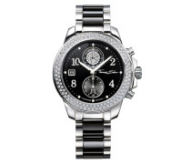 Chronograph »Glam Chrono Wa0185« schwarz / silber
