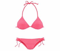 Triangel-Bikini in Häkeloptik hummer