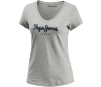 T-Shirt Damen grau