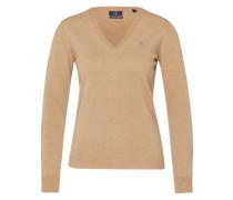 Pullover aus Lammwolle beige