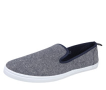 Canvas-Slipper blau