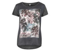 T-Shirt 'Bloomers' grau