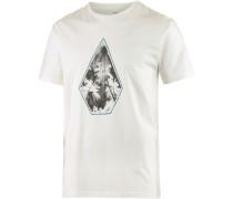 Printshirt Stonesun weiß