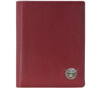 Classic Geldbörse Leder 99 cm rot