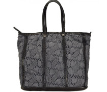 Lucchi Shopper Tasche 34 cm grau