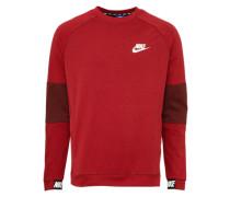 Sportliches Sweatshirt weinrot