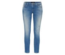 'Mina' Skinny Jeans blau