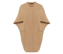 Cape-Jacke in O-Shape beige