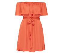 Sommerkleid 'Cassie' orangerot