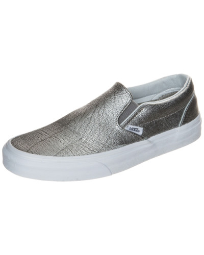 vans damen vans classic slip on sneaker damen silber. Black Bedroom Furniture Sets. Home Design Ideas