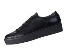 Sneaker Low Lace Italian Calf schwarz