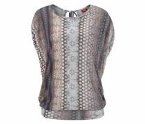 Strandshirt 'London' dunkelbeige / grau / mischfarben