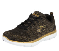 Sneaker 'Opening Night' gold / schwarz