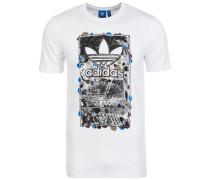 T-Shirt 'Culture Clash' weiß