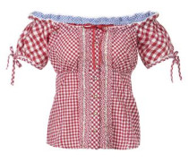 Bluse Ely rot