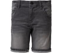 Jeansshorts 'Nitbed' für Jungen grey denim