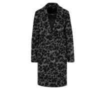 Mantel 'Camrose' grau / schwarz