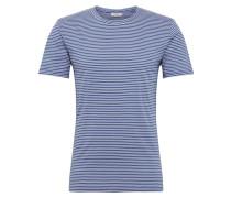 T-Shirt 'luka 3254' weiß / navy