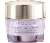 'Advanced Time Zone Night Creme' Anti-Aging Nachtcreme helllila