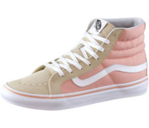 Sneaker 'SK8-Hi Slim' beige / rosa