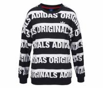 Sweatshirt »Trefoil Sweatshirt« schwarz / weiß