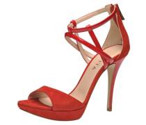 Sandalette hellrot