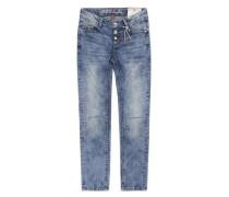 Hose Jeans Girls Skinny BIG Mädchen Kinder blau / dunkelblau