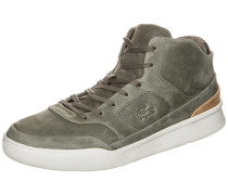 "Mid Sneaker ""Explorateur"" rostbraun / khaki"
