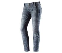 Nali Skinny Fit Jeans blau / grau