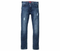 RED Label Junior Sweatjeans blue denim
