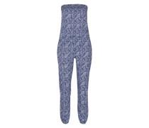 Jumpsuit mit Paisleymuster 'Boho' blau