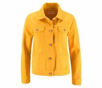 Jeansjacke gelb