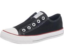 Sneaker Low schwarz / weiß