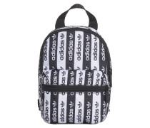 Rucksack schwarz / weiß