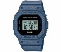 'Baby-G' Chronograph 'bgd-560De-2Er' blue denim