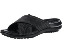 Capri Shimmer Xband Sandal W Komfort-Pantoletten