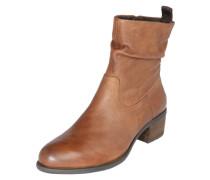 Ankle Boots 'Odette' aus Leder braun