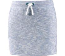 Minirock Mädchen hellblau / grau