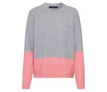 Pullover rosa / grau