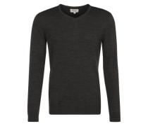 Pullover aus Merinowolle grau