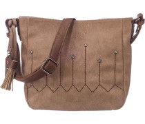 Handtasche 'Mela' braun / taupe