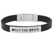 Armband »Only the brave Dx0921040« schwarz