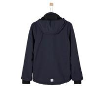 Multifunktionale Softshell-Jacke blau