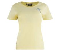 T-Shirt 'Dixie T' gelb
