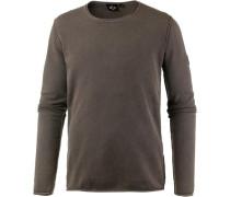 'lazy General II' Sweatshirt oliv