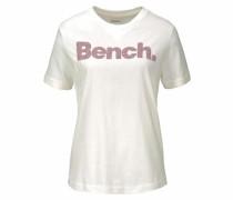 T-Shirt rosé / weiß