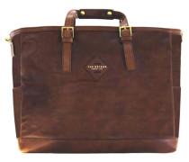 Patch Luxe Weekender Tasche 45 cm kastanienbraun